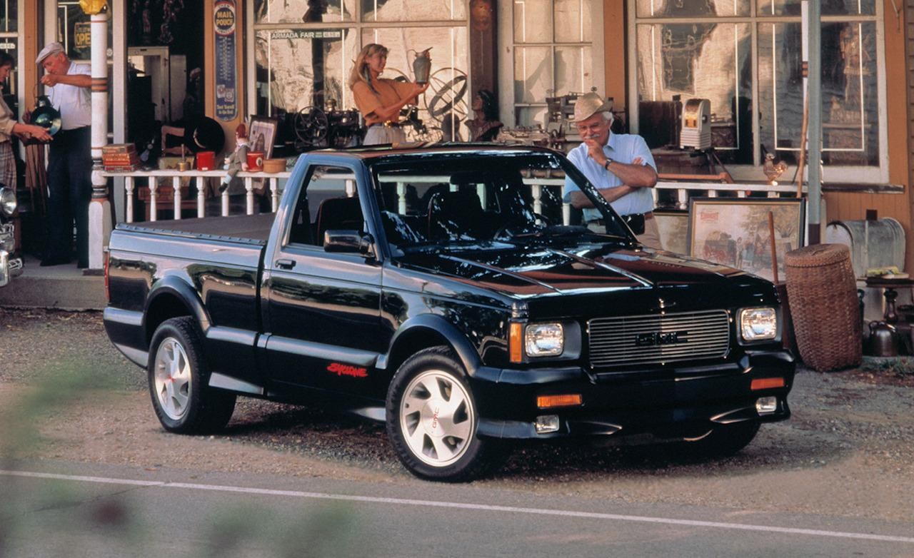 systems pas which in turn would create the fastest production trucks of its time the 91 gmc syclone pickup truck and 92 93 gmc typhoon suv