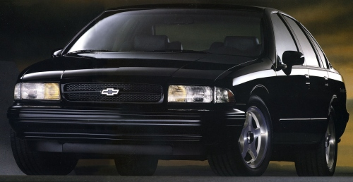 1996 Chevrolet Impala SS Front Side #3