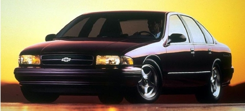 1996 Chevrolet Impala SS Front Side