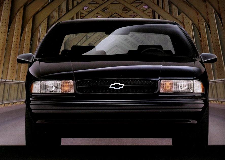 1994 1996 Chevrolet Impala Ss Horsepower Memories