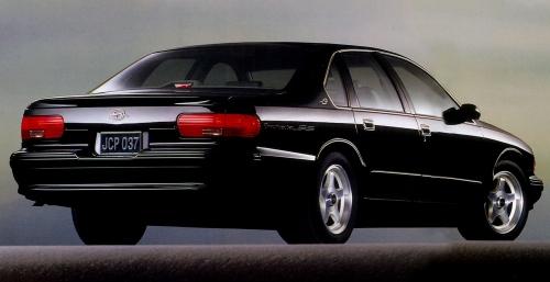 1996 Chevrolet Impala SS Rear Side