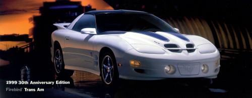 1999 Pontiac Trans Am 30th Anniversary