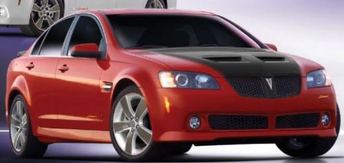 2009 Pontiac G8 Firehawk from brochure