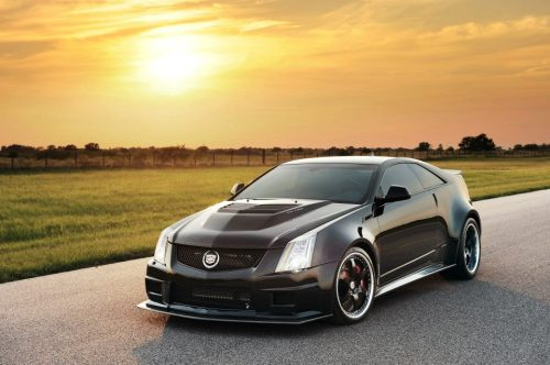 2012 Cadillac CTV-S Coupe from Hennessey Facebook Page