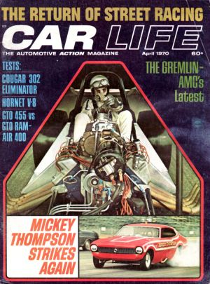 Car Life April 1970 Cougar Eliminator