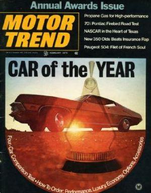 February 1970 Motor Trend