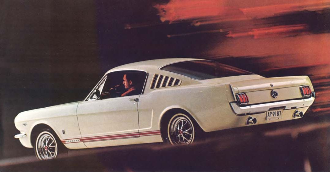 1965 1967 Ford Mustang K Code Horsepower Memories