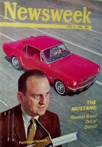 Newsweek Mustang Iacocca