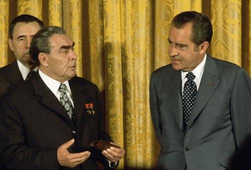 Nixon Brezhnev from history.com