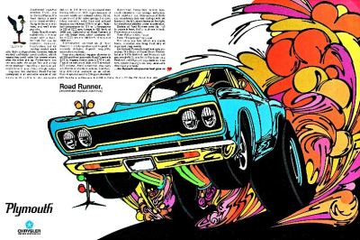 1968 Plymouth Road Runner Ad
