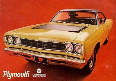 1968 Plymouth Road Runner TCB #3