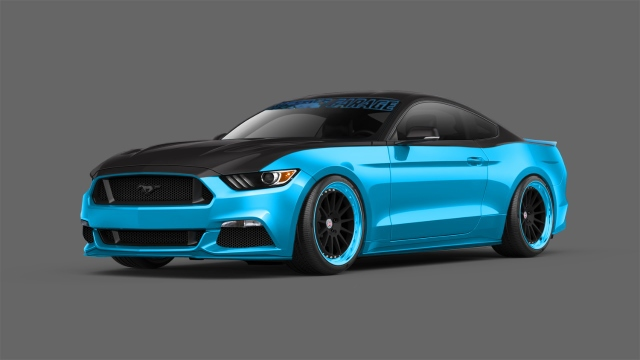 2015 Mustang Ecoboost Modified >> Modified 2015 Ford Mustangs Debut At SEMA – Horsepower Memories