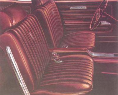 1968 Ford Torino GT Bucket Seats TCB