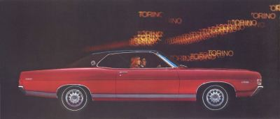 1968 Ford Torino GT Coupe TCB