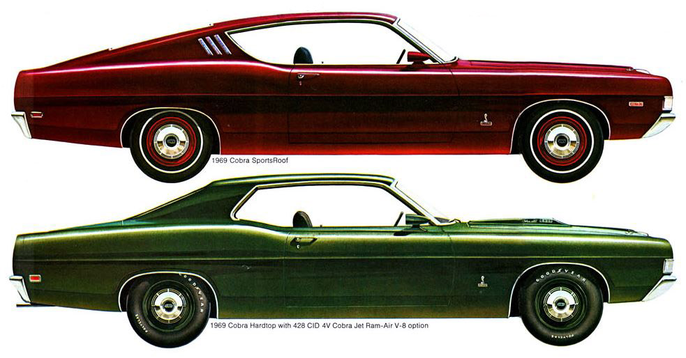 1968-1969 Ford Torino GT – Horsepower Memories