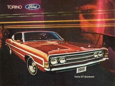 1969 Ford Torino Fastback #2 TCB