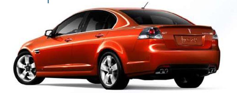 2008-2009 Pontiac G8 GT and GXP – Horsepower Memories
