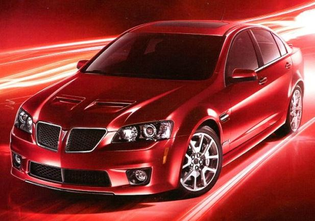 2008 2009 pontiac g8 gt and gxp horsepower memories