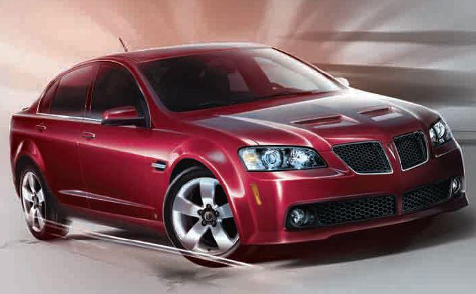 2008 2009 Pontiac G8 Gt And Gxp Horsepower Memories