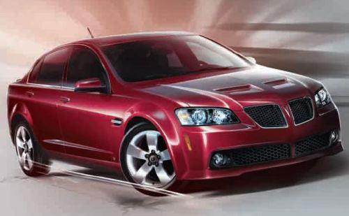 2009 Pontiac G8 TCB #3