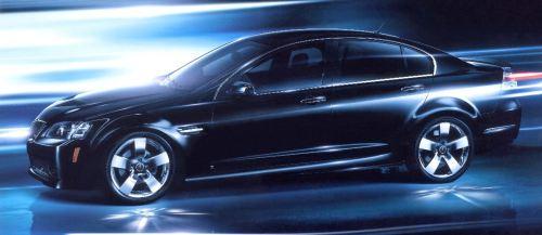 2009 Pontiac G8 TCB