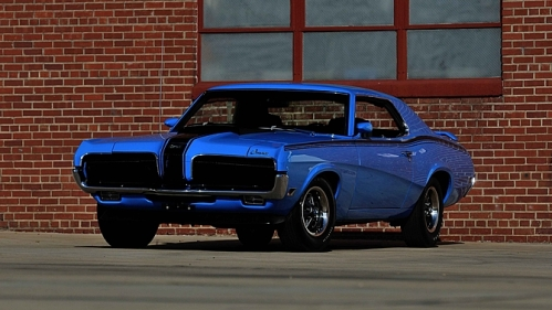 1970 Mercury Cougar Eliminator Mecum