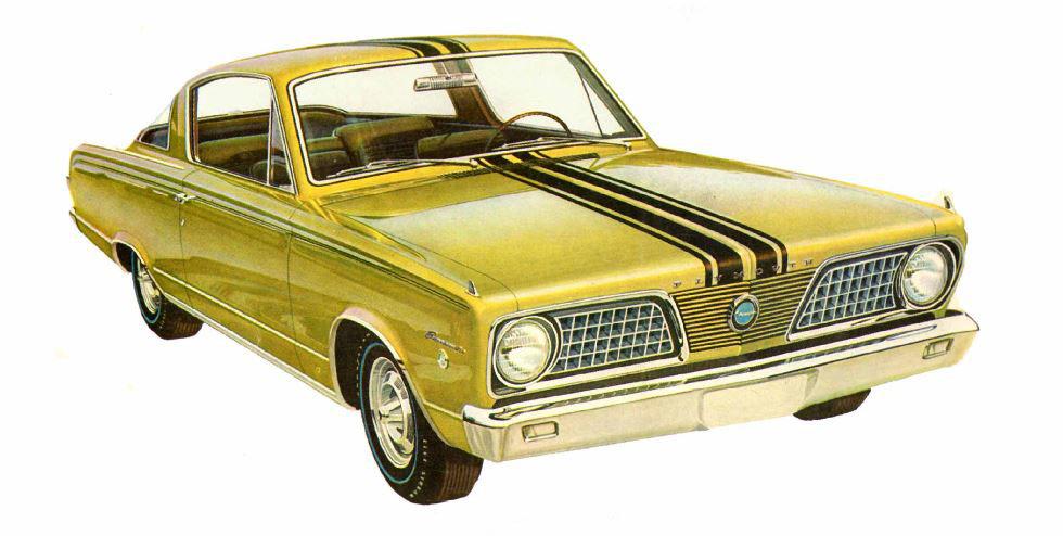 1964-1969 Plymouth Barracuda – Horsepower Memories