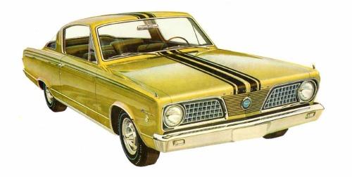 1966 Plymouth Barracuda S TCB