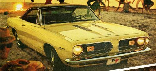 1967 Plymouth Barracuda TCB