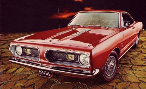 1968 Plymouth Barracuda TCB
