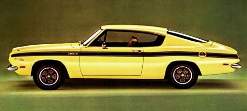 1969 Plymouth Barracuda TCB