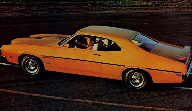 1968-1972 Mercury Cyclone – Horsepower Memories