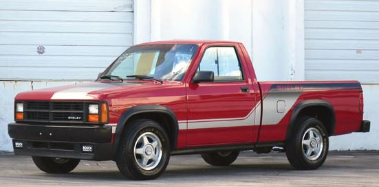 1989 Dodge Shelby Dakota