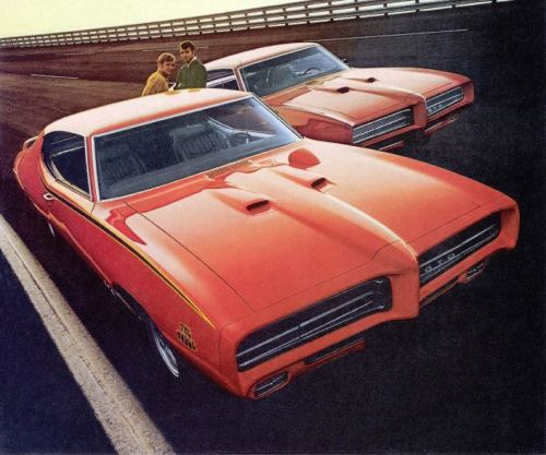 1969 Pontiac GTO Judge TCB #5