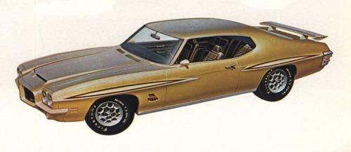 1971 Pontiac GTO Judge  TCB