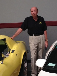 Mr. Judski with 1969 Chevrolet Corvette ZL1