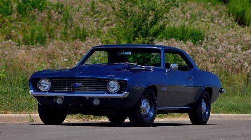 1969 Chevrolet Camaro ZL1 Mecum