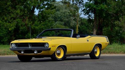 1970 Plymouth Barracuda Convertible Mecum #1