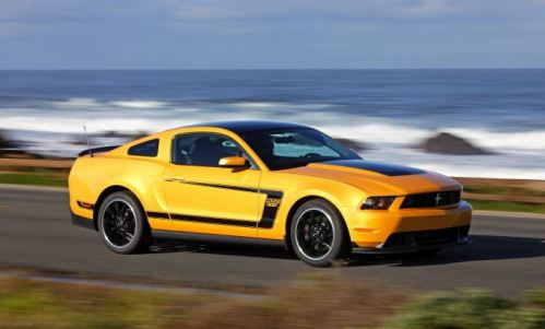 2012 Ford Mustang Boss 302 #4 WAC