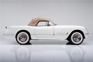 1955 Chevrolet Corvette Side Profile Barrett Jackson