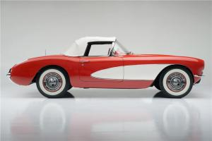 1956 Chevrolet Corvette Side Profile Barrett Jackson