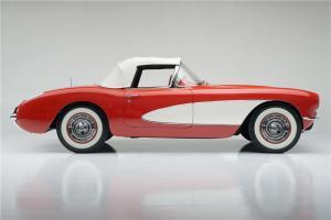 1956 Chevrolet Corvette Side Profile Barrett Jackson
