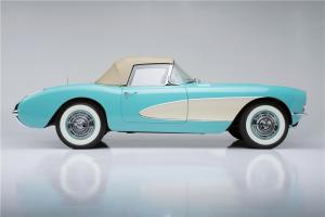 1957 Chevrolet Corvette Side Profile Barrett Jackson