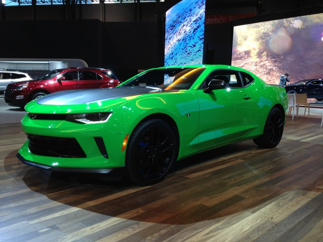 2017 Chevrolet Camaro 1le Turns Up The Heat In Chicago Horsepower