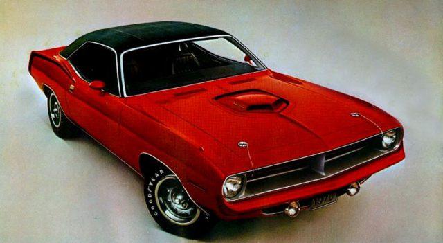 1970 1971 Plymouth Hemi Cuda Horsepower Memories
