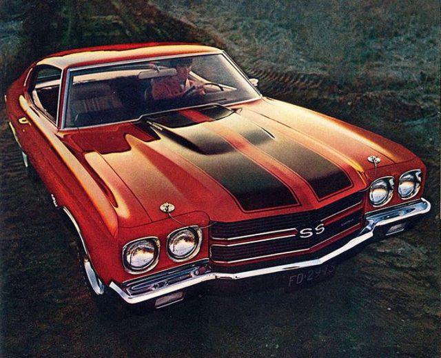 1970 Chevrolet Chevelle Ss Horsepower Memories