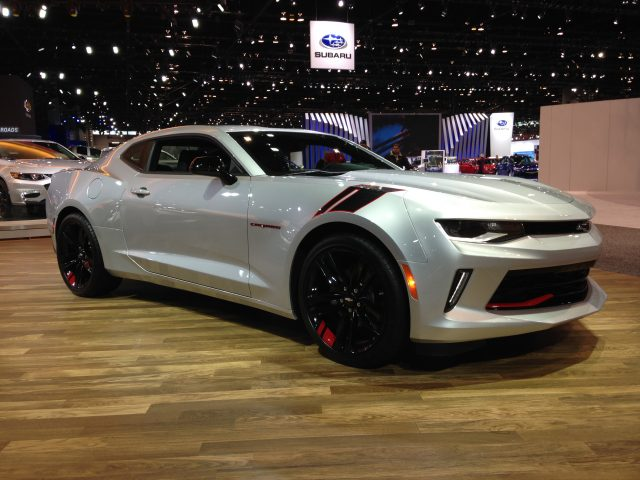 2017 Chevrolet Camaro Redline Edition Unveiled At The