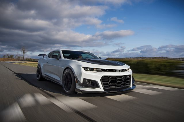 The 2019 Camaro ZL1 1LE now offers a 10-speed automatictransmis