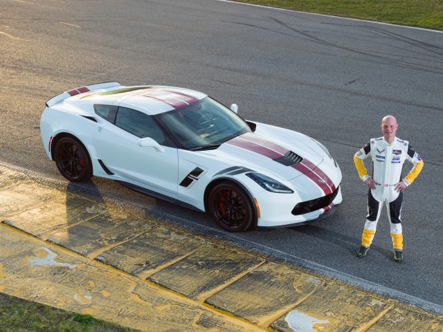 Corvette Racing driver Jan Magnussen stands by his own special e