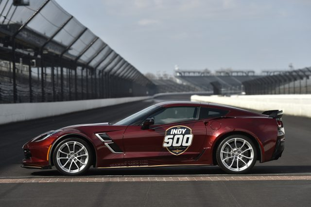 The 2019 Corvette Grand Sport will serve as the Official PaceCa